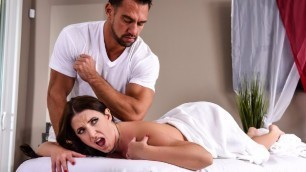 Brazzers - The Wrong Massage Feels So Right For Angela White