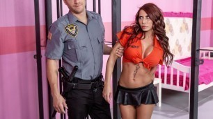 Brazzers - Madison Ivy Goes Wild In Glam Jail Nail