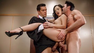 Brazzers - Judge Jury And Double Penetrator For Kristina Rose