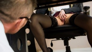 Brazzers -  Business Woman Katy Jayne Fix My Computer, Then Fuck My Pussy!