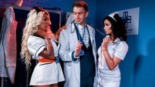 DigitalPlayground - Nurses Alyssia Kent And Brooklyn Blue Want Each Ather