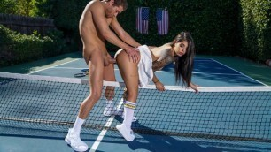 Brazzers - Gina Valentina Is Ready To Hit The Court With Her Partner