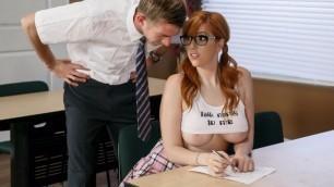 Brazzers - School Girl Lauren Phillips Rides Professor D Cock (Easiest A)