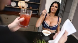 Jasmine Jae Likes The Floor Scrubbed And Her Nipples Licked In Boning The Butler