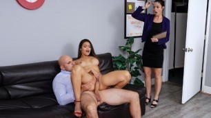 Brazzers - Katana Kombat Give Lessons In Subtraction Of Clothing