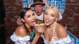 Abella Danger And Gianna Dior Are All Dolled And Ready To Party For Oktoberfest