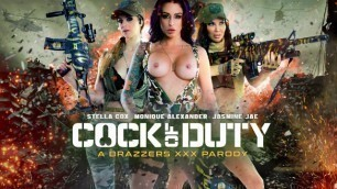 Sexy Soldiers Jasmine Jae, Monique Alexander And Stella Cox Will Stop At Any Enemie's Cock