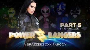 Brazzers - Abigail Mac, Katrina Jade, Kimmy Granger Engaging In Cosplay Power Bangers: A XXX Parody Part 5