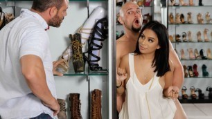 Brazzers - If The Shoe Fits For Latina Monica Asis