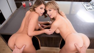 Slutty Adriana Chechik And Cherie Deville In Meet the Fuckers: A DP XXX Parody Episode 4