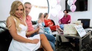 Busted At The Babyshower And Get Crazy Sex From Kendall Kayden