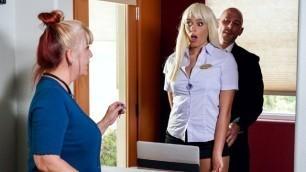 Brazzers - Checking Into Blonde Athena Palomino