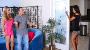 Layla Sin's Husband Brought Home His Sexy Mistress Mia Lelani 2