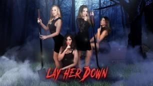DigitalPlayground - Aubrey Rose, Bailey Brooke, Carolina Sweets And Gia Paige In Lay Her Down Mystic XXX Parody