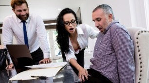 Brazzers - Personal Assistance Crystal Rush Teasing Him From Across The Room