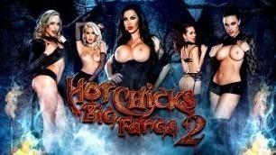 Hot Chicks Chanel Preston, Dillion Harper And Their Big Fangs 2