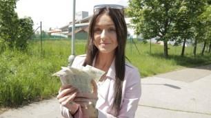 Public Agent - Barbie Esm Let Him Cum On Her Tits