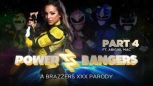 Abigail Mac Loves A Good Sex In Power Bangers: A XXX Parody Part 4