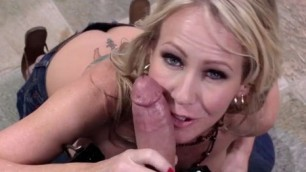 simone sonay Passionate fuck MILF blonde with big tits home in the kitchen