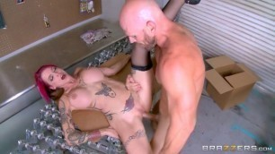 anna bell peaks Passionate fuck with the foreman in a hardware store saleswoman