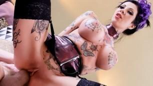 Evil Angel - Tattooed MILF Megan Inky's Gaping Anal Sex