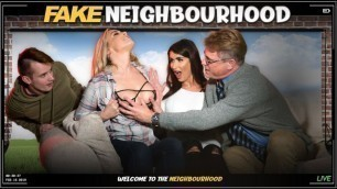 Fakehub Originals - Welcome To The Fake Neighboorhood Karlie Simon And Princess Jasmine