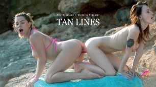 Babes - Ally Breelsen And Victoria Traveler Love Spending Time On The Beach In Tan Lines