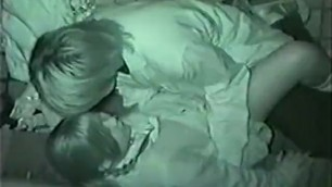A Japanese Student Couple has Sex Passionately at a Corner in a Building