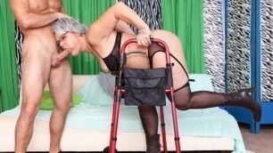 Devils Film - Horny Grannies Kelly Leigh From The Nursing Home Love To Fuck 12