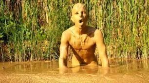 Naked Mud Swimming (2)