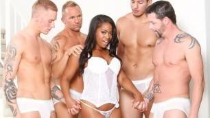 Devils Film - Monique Symone Prefer White Guys In White Out