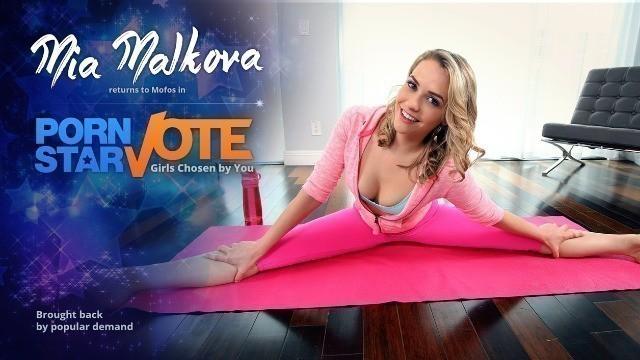 Mofos - Tiny Mia Malkova's Yoga Sex Tape