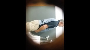 Spying on old Man Pissing 38