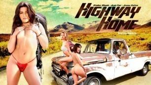 Digital Playground - Girls Arya Fae, Jenna Sativa And Other Pornstars In Highway Home