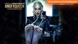 Emilia Clarke Daenerys Targaryen Feet Soles Toes