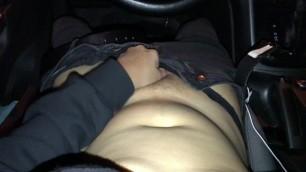 Midnight Lingerie Car Masturbation Pt 2