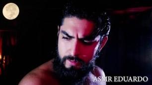 ASMR - Boyfriend Warrior Role Play - Ft. Hairy Man, Chest, Long Hair