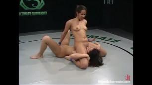Ultimate Surrender Lesbian Gets Hard Shaking Orgasm