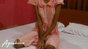 Sri Lankan School Girl Beautiful Skinny Body ගෙදරටම කොල්ල ඇවිත් සැප දුන්න
