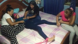 Tickle Torture by the Girls Turn of Victoria