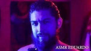 ASMR - Escort Role Play Ft. Shirtless Bearded Man, Hairy Chest, Long Hair +