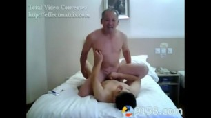 Chinese old Man Sex