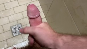 Public Gym Shower Jerkoff