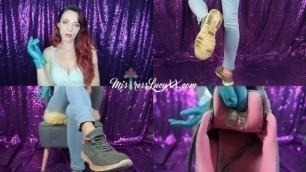 Sneaker Freak (Teaser) MistressLucyXX