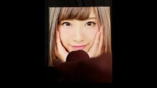 【ぶっかけ】nagai Riko Cum Tribute【永井理子】
