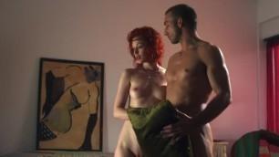 Nude at the Door/Nude Demonstration - Justine Joli (CFNF CFNM CMNF NIP)