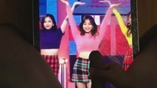 Twice Jihyo Cum Tribute