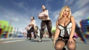 Sraynoga's Istripper 3D with Kyra Hot