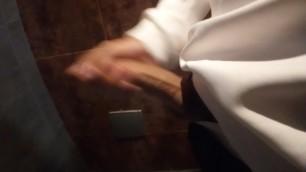 OMG I just Wanked myself in a Public Bathroom!