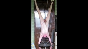 My Belly, Hanging Upside Down, Suspension